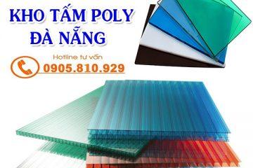 kho tấm poly tại Đà Nẵng giá rẻ